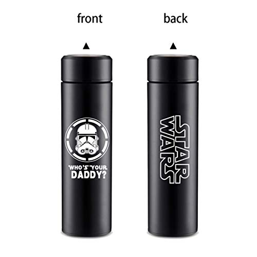 IFREE Anime Travel Vacuum Mug Cartoon Stainless Steel Insulated Water Bottle Double Wall Thermos Movie Game Fans Coffee Cup Best Cosplay Gift for Women Men Boy Girl,7