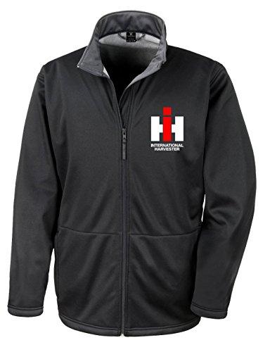 Schlüter IHC Softshell-Jacke, B+RD, schwarz, Größe L