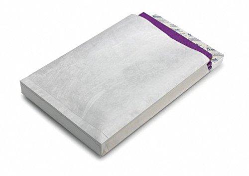 Tyvek Faltentasche mit Klotzboden B4 (353x250x40mm) haftklebend weiß 68g 100 Stück