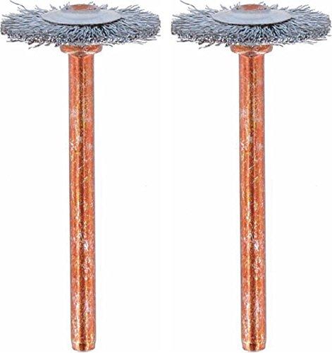 Dremel 530-02 Stainless Steel Brushes (2 Pack), 3/4' Diameter
