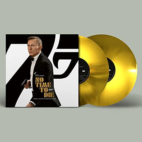 Hans Zimmer – James Bond: No Time to Die (Golden Vinyl) (Exklusiv auf Amazon.de) [Vinyl LP]
