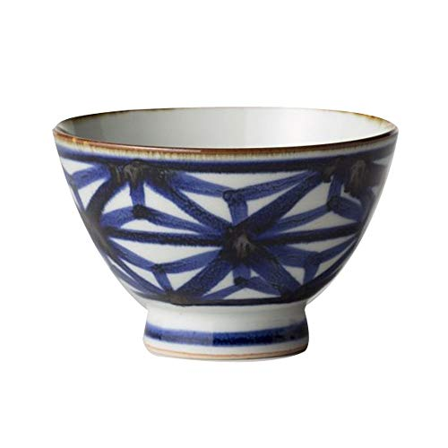 RKY Bol- Bol en céramique japonaise et vent vintage bol de nouilles bol de soupe bol de thé à la maison peint à la main - 2 styles /-/ (Couleur : B)