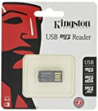 Kingston FCR-MRG2 - Lector Micro SD (USB 2.0), Negro