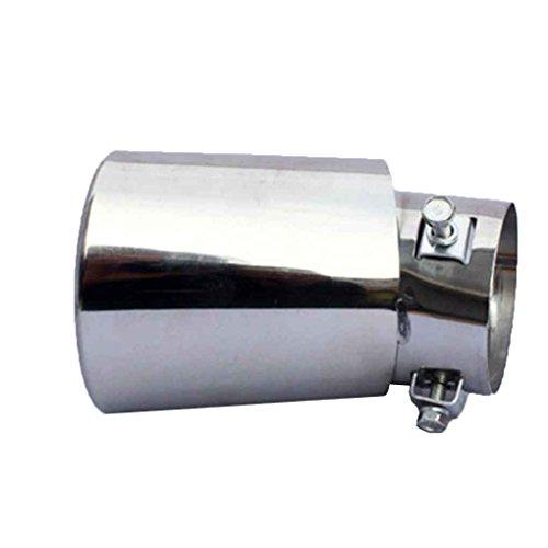 Morza Escape Silenciador Posterior del Coche del vehículo Enchufe de la Pipa de la Cola Consejo Silenciador automático de Acero Inoxidable Tubo de Escape del silenciador