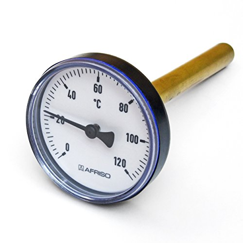Afriso 63711 Bimetall-Pufferspeicherthermometer 100 mm