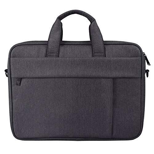 Yxxc Universal Handbag DJ03 Waterproof Anti-scratch Anti-theft One-shoulder Handbag for 13.3 inch Laptops, with Suitcase Belt(Black) (Color : Black)