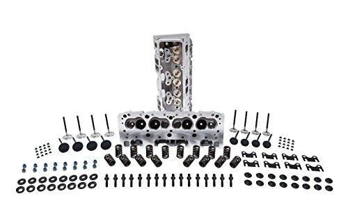 SBC Aluminum Cylinder Head Assembly 64 cc Aluminum Heads (assembled) Pair