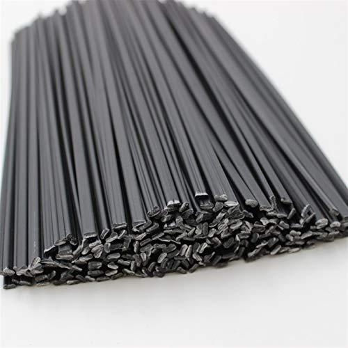 Gfpql WYanHua-Varilla de Soldadura 10 unids Barras de Soldadura de plástico PPR de 25 cm Negro, 2.5x5mm, Soldador para soldar