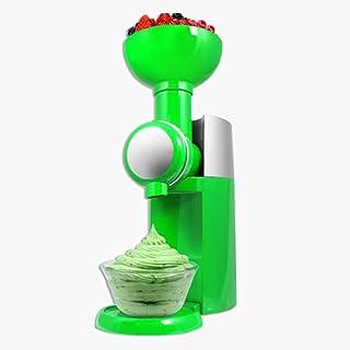BJH Sorbetière, sorbetière à Dessert glacé aux Fruits, Sorbet à la Machine à yogourt glacé, pour Usage Domestique Portable...