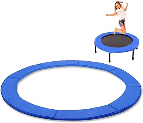 pad Trampoline Cover, Replacement Spring Coil Padded Covering Skirt for Safety and Comfort – Comfortable, Long Lasting, and Water-Resistant for Round Frames,14FT