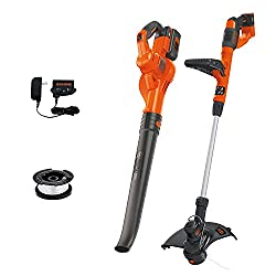 top rated Black + Deck 40V Max Combination Kit for Cordless Sweeper and Thread Cutter (LCC340C) 2021