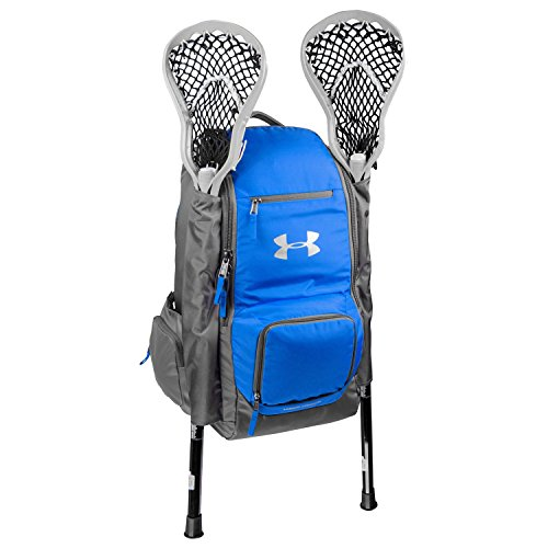 Under Armour 2 Stick Water Resistant Lacrosse Equipment Gear Backpack Bag, Black