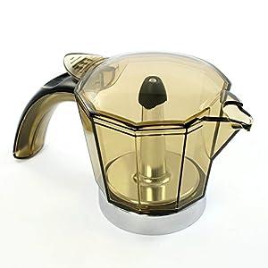 Jarra Para Cafetera Delonghi Alicia 6 Tazas EMK6