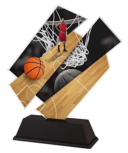 Trophy Monster - Placa grabada para jugadores de baloncesto artísticos, diseño de trofeos a granel, para clubes y ligas, hecha de acrílico impreso (3 tamaños) (100 mm)