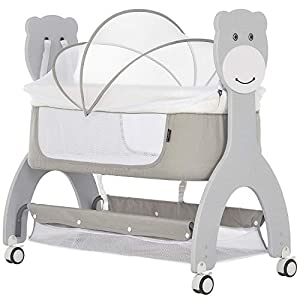 Dream on Me Cub Portable Bassinet in Grey