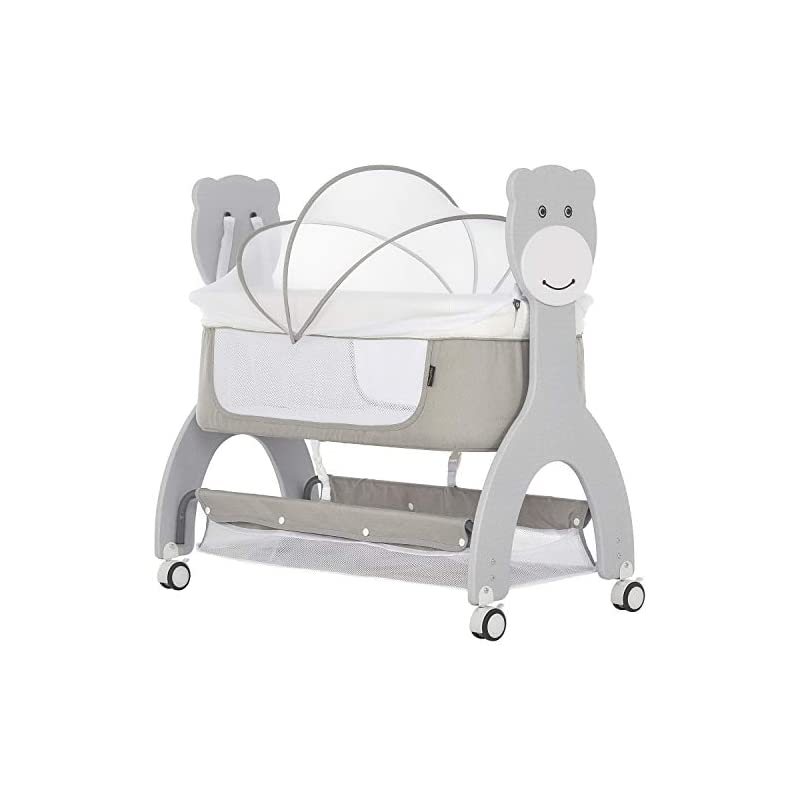 crib bedding and baby bedding dream on me cub portable bassinet in grey