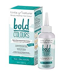 DAMAGE FREE COLOURING: Tints of Nature Bold Colours transform your hair into a technicoloured dream as this conditioner based colour is damage-free so you can try a vibrant new colour without compromising your hair SEMI-PERMANENT HAIR DYE: Ideal if y...