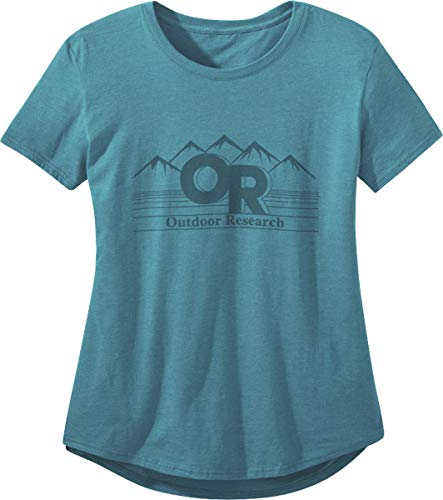 Outdoor Research Advocate Women's Tee peacock L