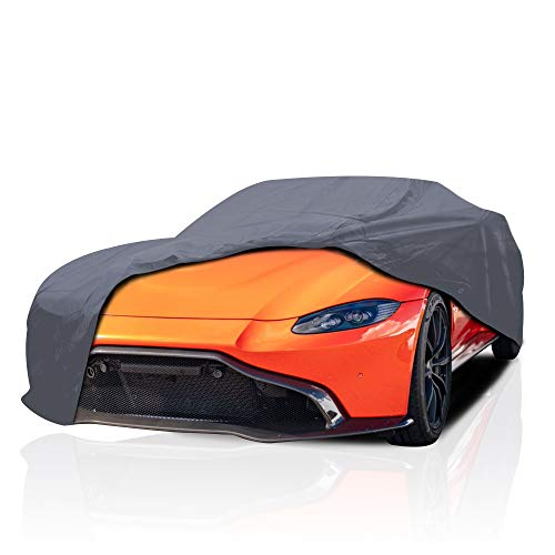 Supreme Car Cover for Ferrari 488 Spider 2019-2020 Convertible 2-Door Breathable Full Coverage Semi Custom Fit Car Cover, Outdoor All Weather Protection