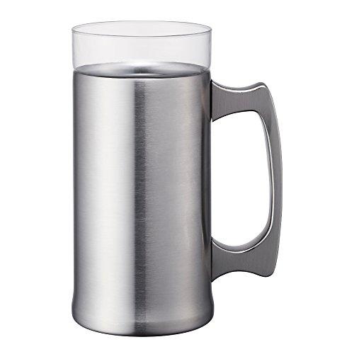 ON℃ZONE 飲みごこちビールジョッキ 420ml OZNJ-420MT [マット]