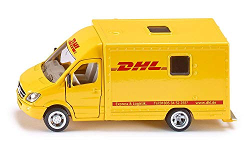 SIKU 1936, Postwagen, 1:50, Metall/Kunststoff, Gelb, Öffenbare Türen