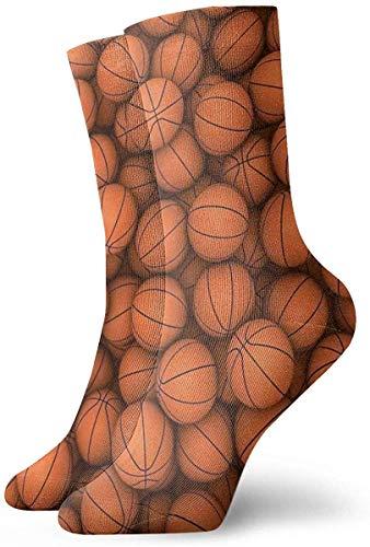 KLING Novedad Divertido Crazy Crew Sock American Basketball Impreso Sport Athletic Calcetines Calcetines de regalo personalizados de 30 cm de largo