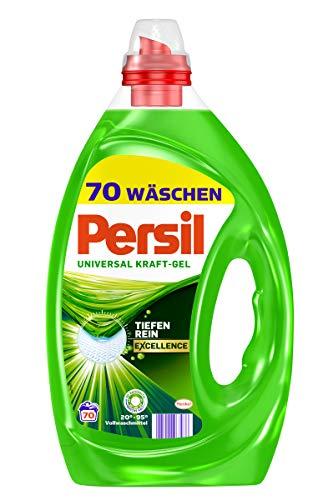Persil Universal Gel, Flüssigwaschmittel, 140 (2 x 70) Waschladungen für hygienisch reine Wäsche