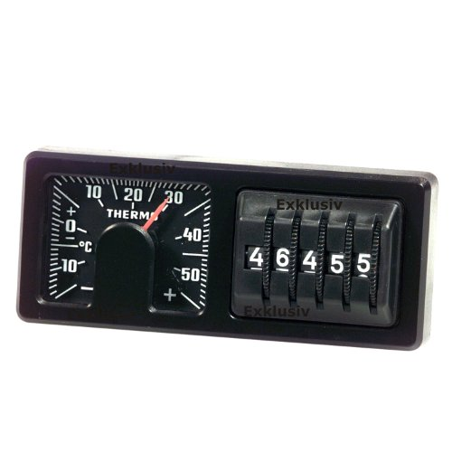 Kilometerzähler Thermometer Instrumenten Kombi 1978