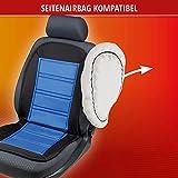 Walser 16591 Beheizbare Sitzauflage Sitzheizung Warm UP mit Thermostat schwarz blau - 6