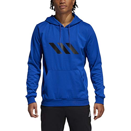 adidas Men's SPT Basketball Sweatshirt, Collegiate Royal, Small