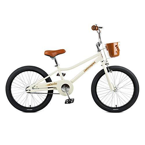 Retrospec Koda Kids Bike Boys and Girls Bicycle, 20', Eggshell