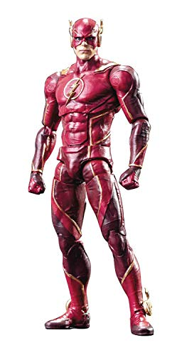 Hiya Toys Injustice 2: The Flash 1: 18 Scale Action Figure, Multicolor