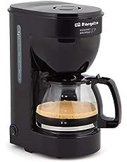 Orbegozo CG 4014 - Cafetera goteo 6 tazas, jarra de cristal de 0,6 litros de capacidad, 650 W de potencia