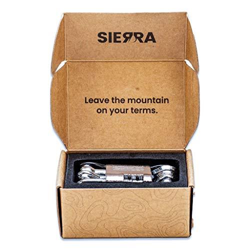Sierra 12 in 1 Bike Multitool, Durable, Compact, Lightweight, Repair...