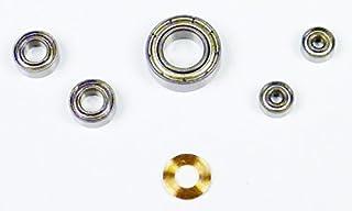 Modelo 10pcs set Rodamientos de bolas miniatura con blindaje doble MR63Z 3x6x2.5mm Adecuado para Impresora 3D