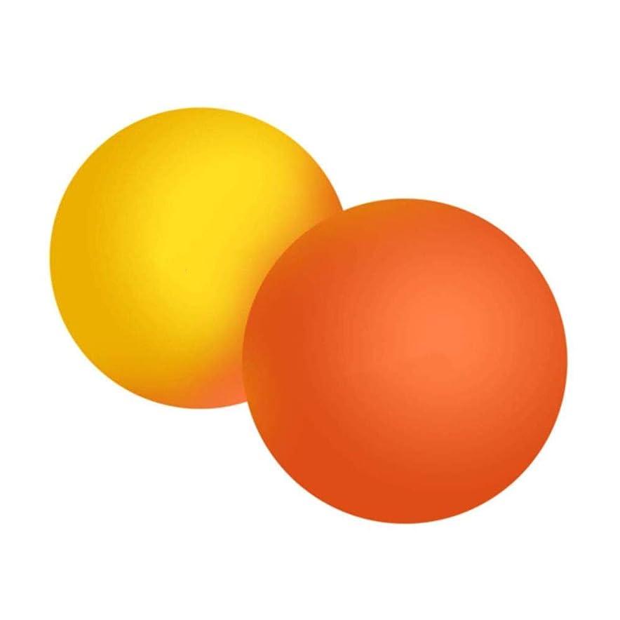 ほとんどの場合ビヨン補充ストレッチボールマッサージボール首腰足裏ツボ押し全身 ツボ押 筋膜リリース , 2個セット