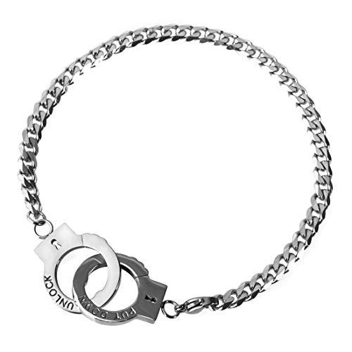 SAWADA Edelstahl Handkette mit Handschellen
