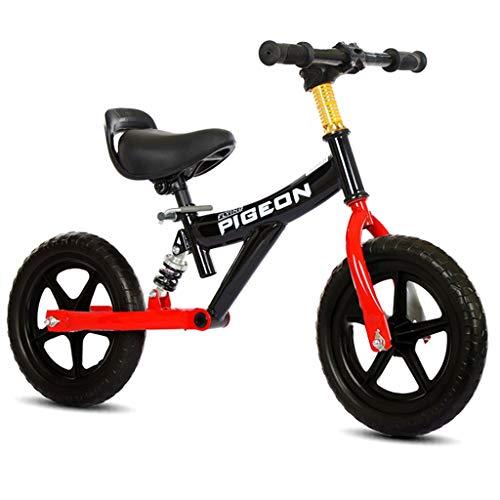 Bicicleta sin pedales Bici Specialized Sport Balance Bike - Bicicleta Ligera Deportiva de Empuje para niños y niñas de 1/2/3/4/5/6 años, Primera Bicicleta para niños pequeños y niños, 12 Pulgadas