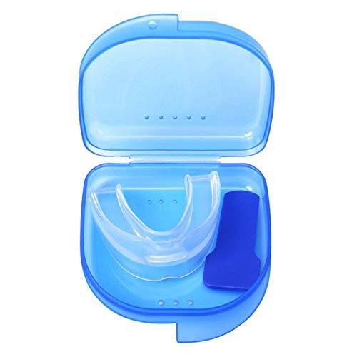 BianchiPamela Mouth Bite Guard Mouthpiece Adjustable Night Guard Aid Sleep Eliminator Resin