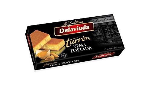 Delaviuda - Turrón Yema Tostada Superior, 300 g