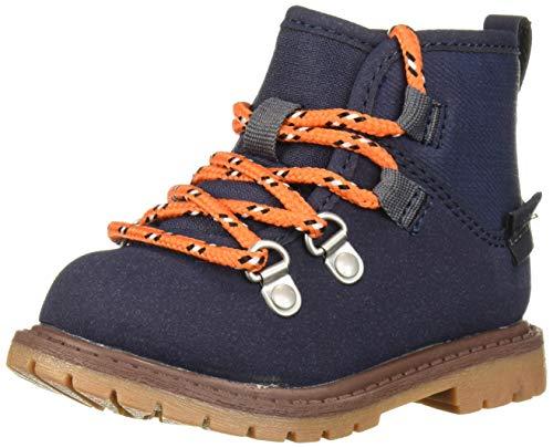 Carter's Boys' Cason Boot, Navy, 9 M US Toddler
