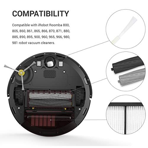 kwmobile Set de repuestos para Roomba - Series 800 y 900-3X ...