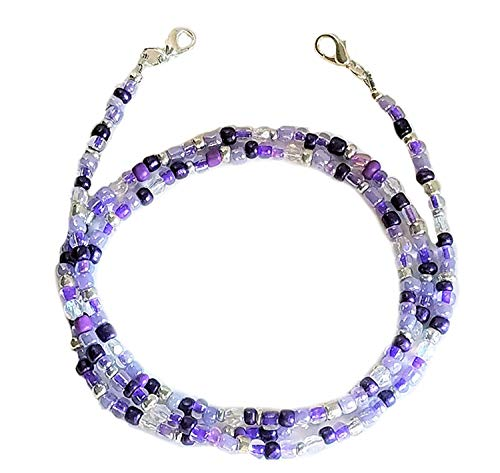 Face Mask Lanyard for Women Kids Fashion Necklace Beaded Mask Holder Women Kids Eyeglass Chains