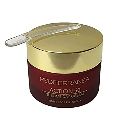 Mediterranea - Action 80 Ultraplus Cream - Anti-wrinkle Day and Night Face Cream for Mature Skin - Moisturising, Nourishing and Protective Action - 50 ml