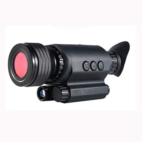 WNTHBJ HD Notte Registrazione Digitale Videocamera Visione Built-in Giorno E La Notte WiFi Telescopio Notte di Caccia, Il Golf Portatile Telescopio Esterno