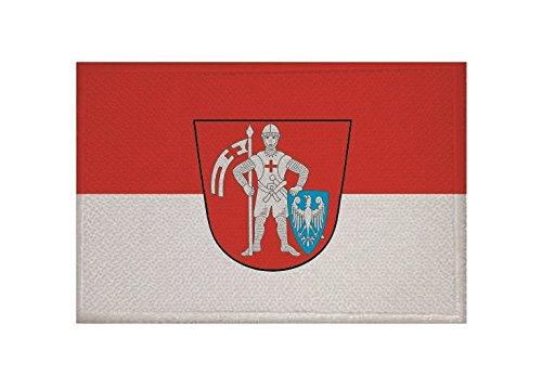 U24 Aufnäher Bamberg Fahne Flagge Aufbügler Patch 9 x 6 cm
