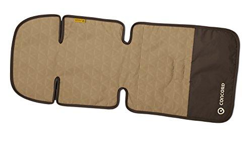 Concord Snuggle Colchoneta para Silla de Paseo, Reversible, Color Walnut Brown