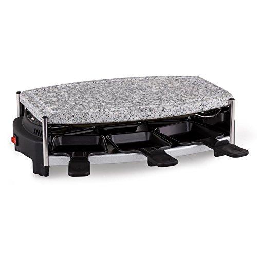 Domoclip DOM223 Raclette-Set Stein zu Grillen für 6 Personen
