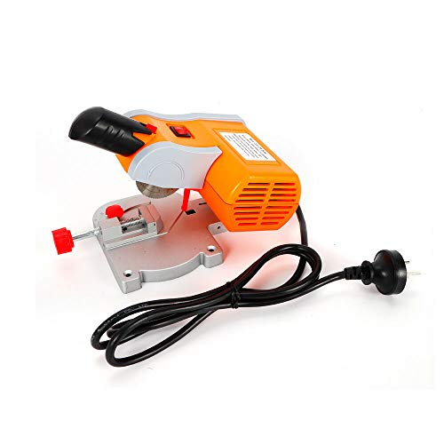 45°Miter Mini Benchtop Cut-off Saw, Chop Saw Wood Metal Saw for Hobby Crafts Wood Brass 110V 60 Hz 7800R/Min with 50mm Blades