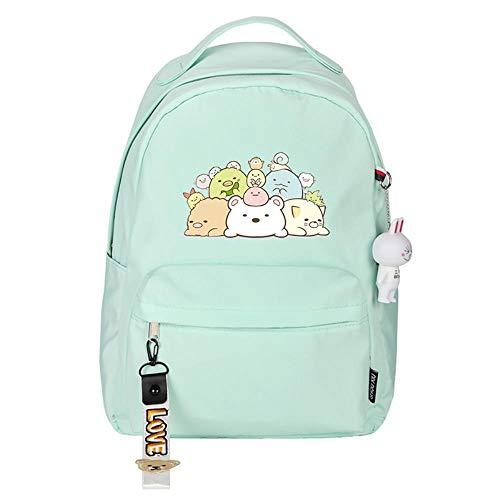 XYUANG Cute Cartoon Animals Mochila Mochilas Escolares de Dibujos Animados Anime Book Shoulder Laptop Mochila para niños Niño-G